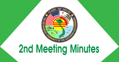 Second Meeting Minutes