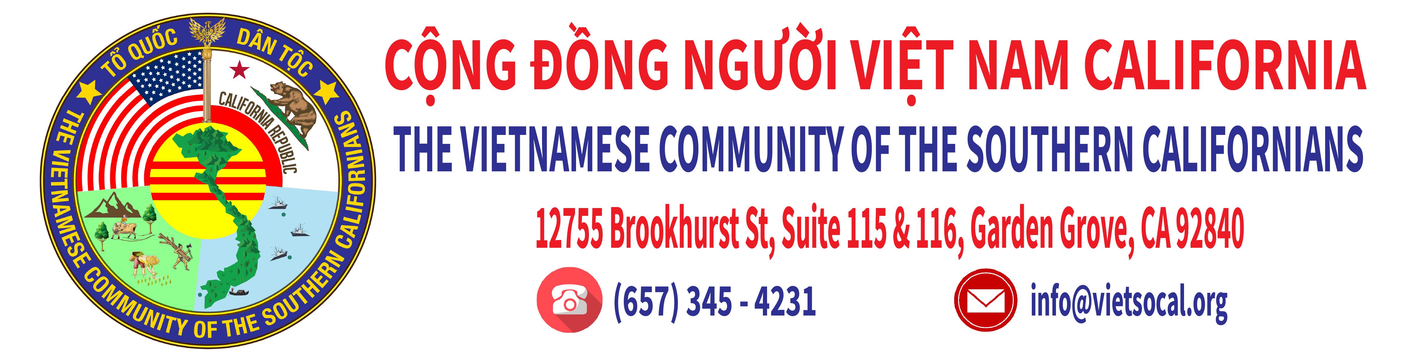 Cộng Đồng Người Việt Nam California | VietSocal