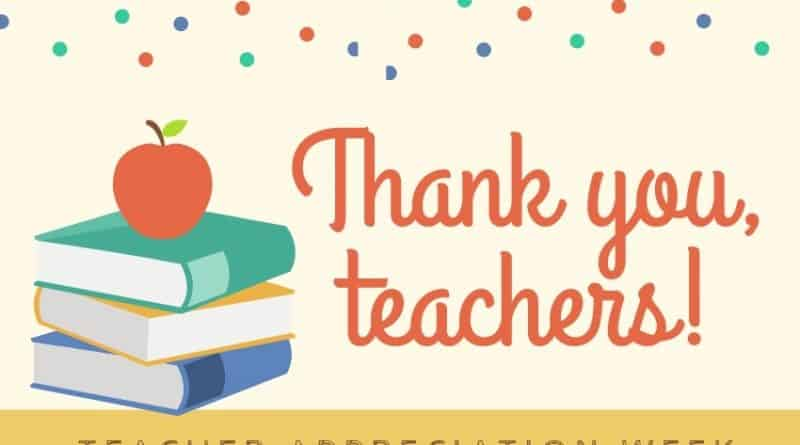TẢN MẠN NGÀY NHÀ GIÁO MỸ – ON THE TEACHER APPRECIATION DAY 2019