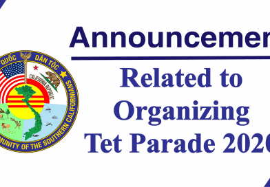 Announcement No. 3 Related to Organizing Tet Parade 2020