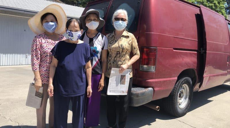 Phân Phát Thực Phẩm – Food Distribution on 07/28/2020