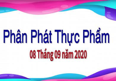 Phân Phát Thực Phẩm – Food Distribution on 09/08/2020